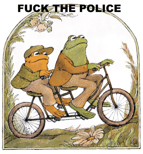 600px  the police frogs